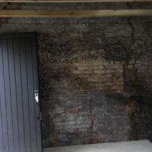 Garage conversion before restoration