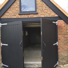 Garage conversion after restoration